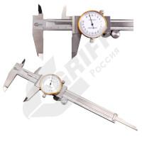 Штангенциркуль стрелочный ШЦК-I-150-0,02 GRIFF