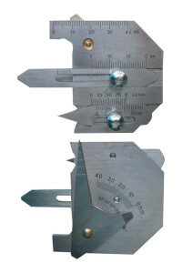 Шаблон сварщика WG-1 ЧИЗ